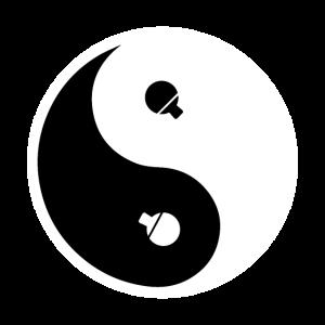 Yin Yang Chinesische Astrologie Geschenkidee
