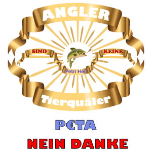 Angler sind keine Tierquäler - Petri Heil