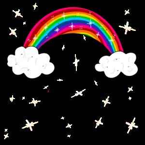 Funkelnder Regenbogen Geschenk