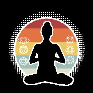 Yoga Chakra Zen Vintage