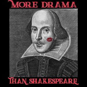 William Shakespeare - Drama, Dramaqueen, Kuss