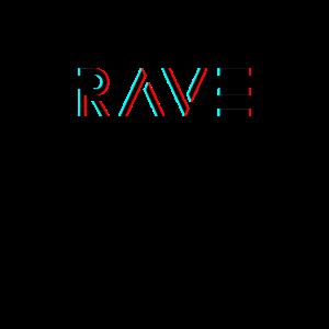 Rave Glitch Raven Tanzen Party Festival Feiern