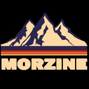 morzine frankreich Gebirge Geschenk retro