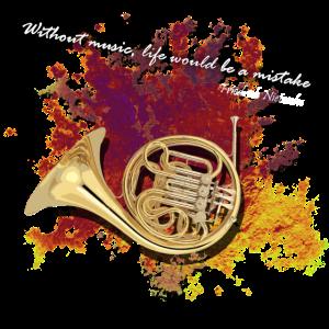 Waldhorn Horn Instrument French horn