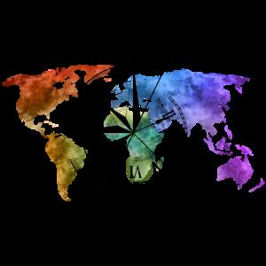 Weltenbummler Kompass