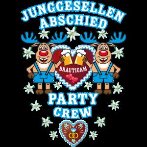 256 Bayern JGA Hirsche Bräutigam Party Crew Rudolf