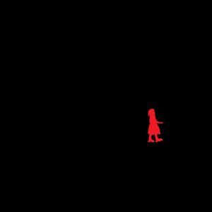 kleines rotes mädchen metapher geschenk shirt