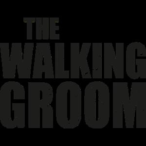 The walking groom Bräutigam Junggesellenabschied