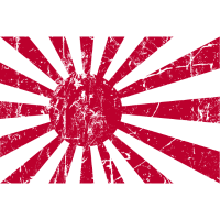 Aufgehende Sonne Japan Flaggenkrieg Japan Flagge