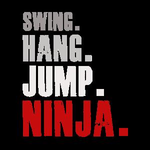 Swing Hang Jump Ninja