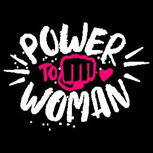 Power Weiblich Spruch Aktivist