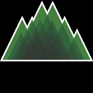 Berg, grün