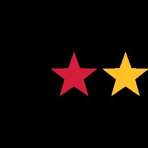 Fußball Deutschland WM Weltmeister Stern Flagge