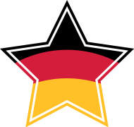 Fan-Shirt: Deutschland Stern Weltmeister Fußball Fahne Flagge