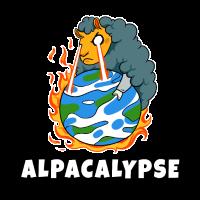 Alpaka Lama Apokalypse Weltuntergang Guanako
