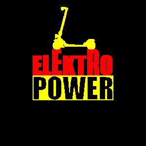 Tretroller Elektroantrieb