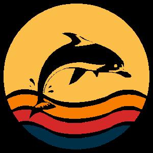 Hawaii Delphin Waves - Geschenkidee