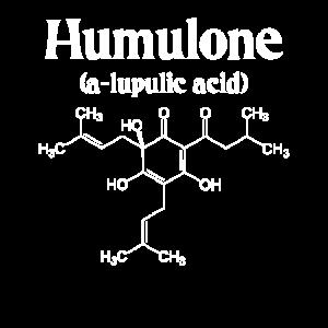 Humulone Molecule Geeky Beer Brewing Science