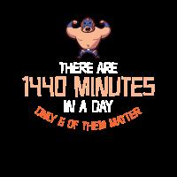 Wrestling-T-Shirt: Es sind 1440 Minuten, nur 6