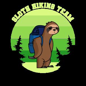 Faultier Wandern Team