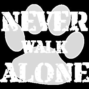 Never Walk Alone, Gassi, Hund