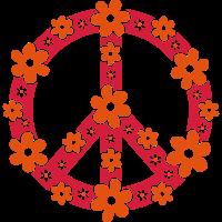 Peace Frieden Symbol Hippie Sommer Freiheit Liebe