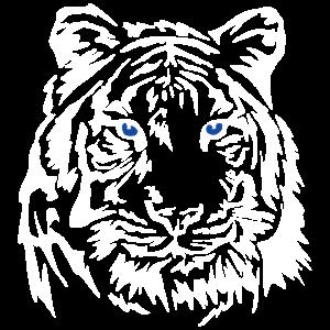 Tiger König des Dschungels Raubtier Geschenk Chef