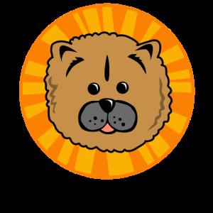 Hund flauschig, kuschlig und pelzig