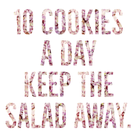 10 cookies a day - Blossoms