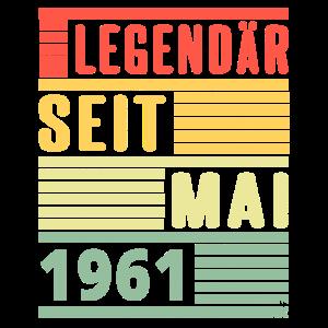 Legendär Seit Mai 1961 Geburtstag Geschenk