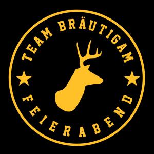 Team Bräutigam - Junggesellenabschieds T-Shirt