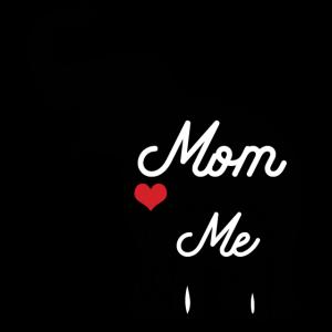 Muttertag Mama Geschenk Elefant Herz Mutti Mom