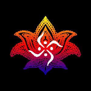 Spirituelles Lotus-Design-Geschenk für spirituelle Menschen