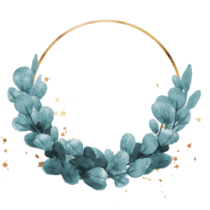 Blue ivy wreath