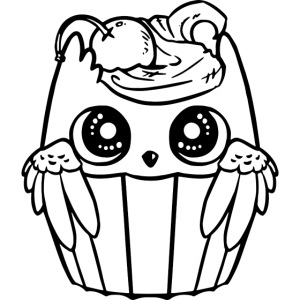 Fågel muffin