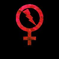 Venus Blitz rote Polygone