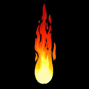 Komet Flamme Feuer