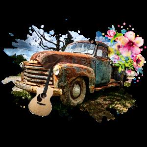 Alte Pickup Gitarre