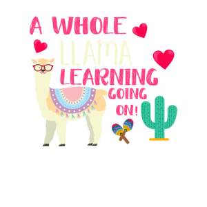 A Whole Llama Learning Going On Lama Lehrer