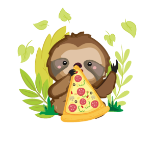 Faultier & Pizza