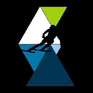 Wintersport Abfahrt