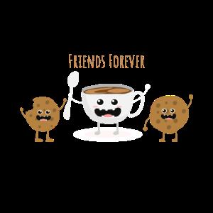 Kaffee Kekse Keks Beste Freunde