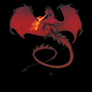 Drache Drachen Fantasy Geschenk Monster Kreatur
