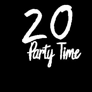 20 Partyzeit