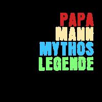 Papa Mann Mythos Legende Design
