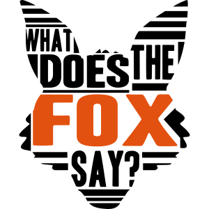 Cool What Does The Fox Say Logo