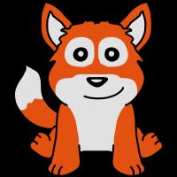 Cute Fox Child