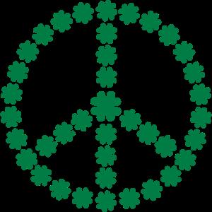 Peace Shamrock