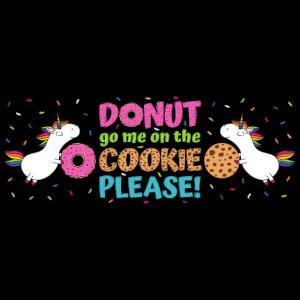 Einhorn Donut Go Me On The Cookie Panoramatasse