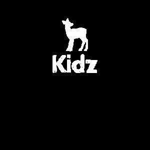 """Kids tragen """"Kidz"""""""